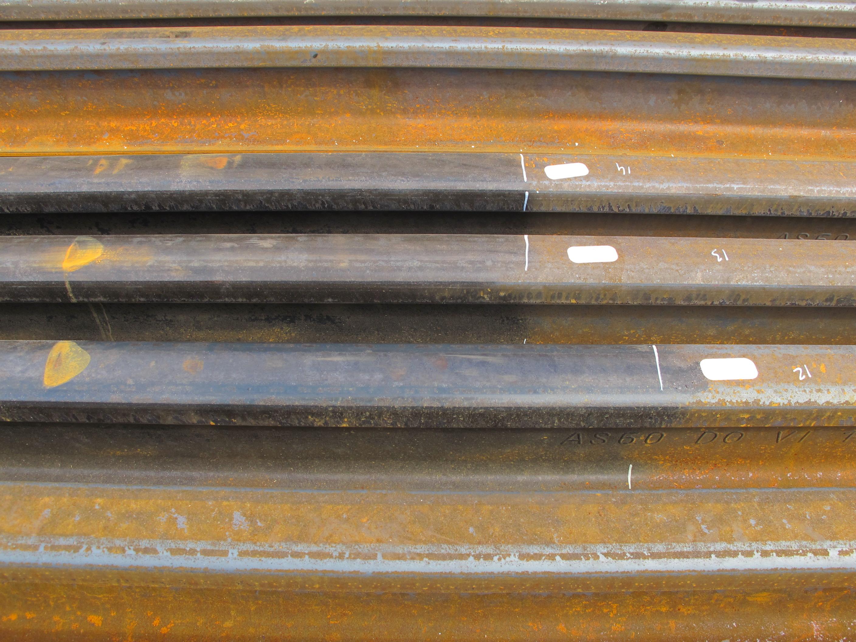Weiteres Beispiel für Beschichtung von Schienen mit Acorros Korrosionsschutz